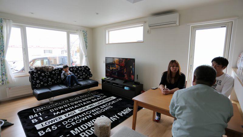 家族と愛猫と暮らす、空気がきれいで快適な家